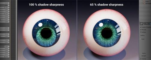 CW Eye Material – Iris shadow option in progress