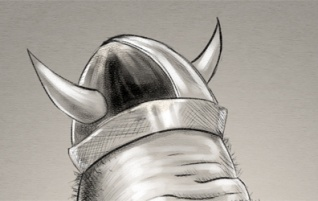 "Gallery sketch: ""Big Viking"""