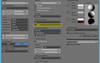 Hint: Increase viewport performance in blender