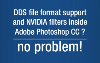 Hint: How to setup DDS support inside Adobe Photoshop CC