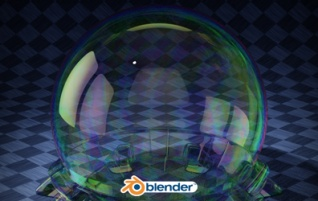 Free blender Cycles material: Soap bubble