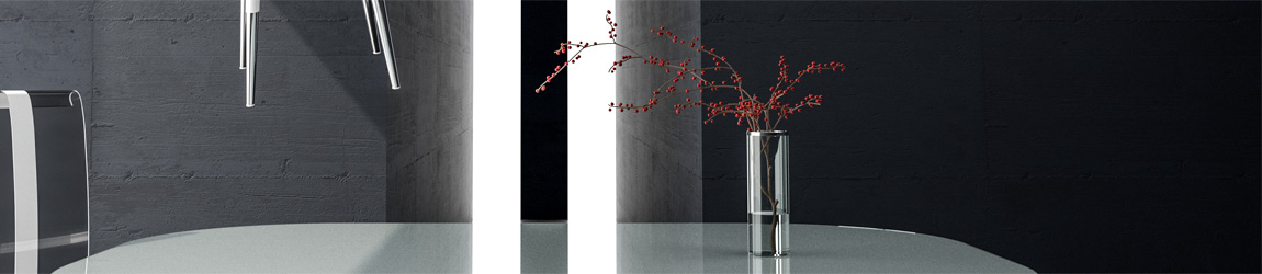 """""""l'amour du blanc"""" – architectual visualisation"""