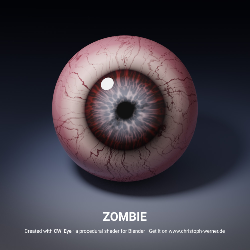 CW Eye – Procedural Eye Material for Blender – Christoph