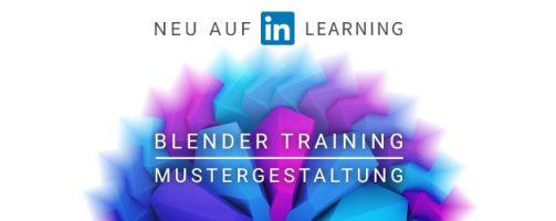 """Training: """"Muster gestalten mit Blender"""""""